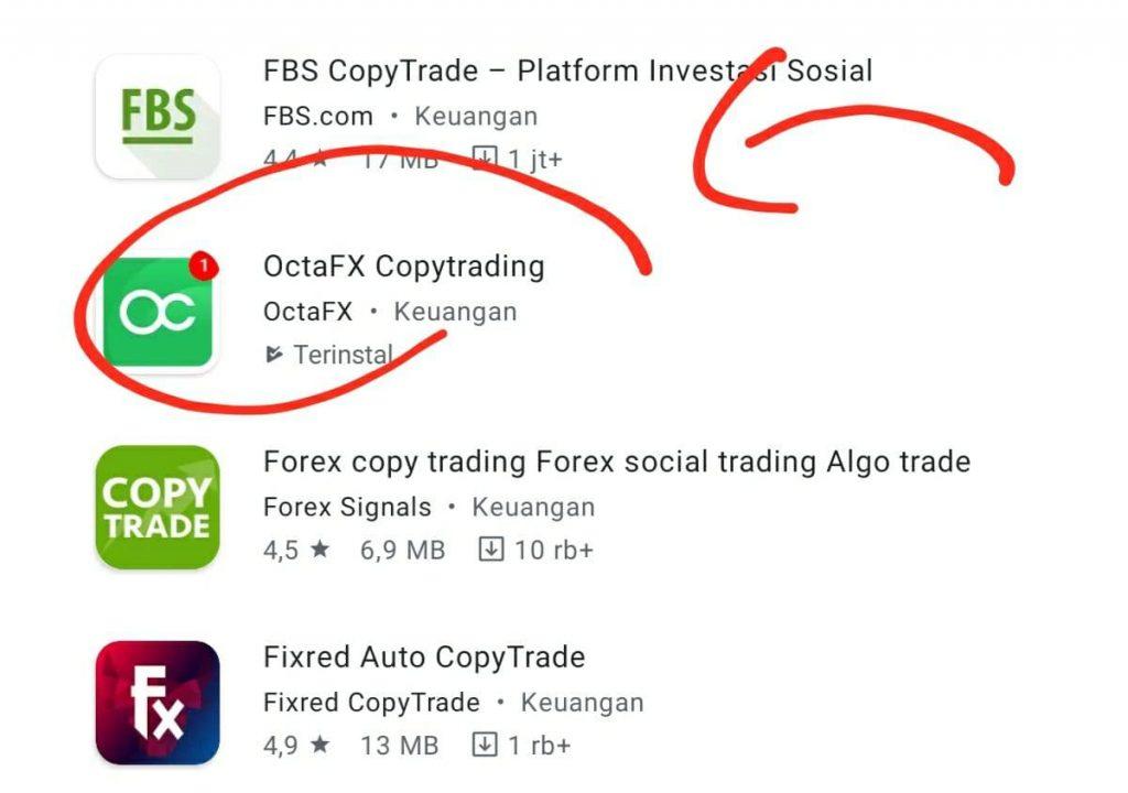 aplikasi copy trading di octafx