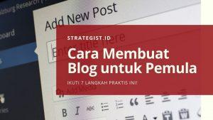 Cara Membuat Blog untuk Pemula 9