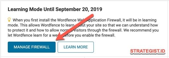 manage firewall wordfence