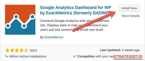 Cara Memasang Google Analytic
