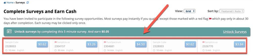 survey ysense