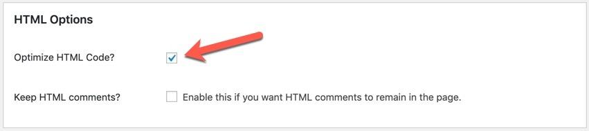 HTML Options