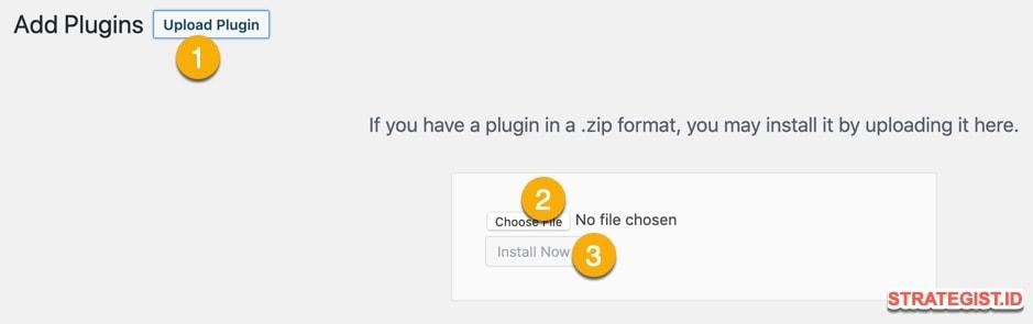 Cara Instal Plugin Wordpress secara Manual dengan Mudah 11